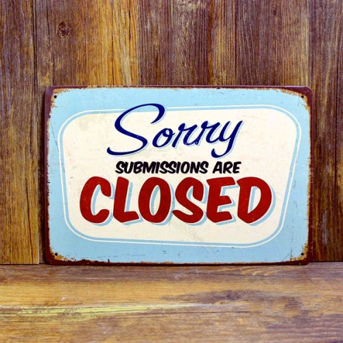 Sorry Submissions are Closed