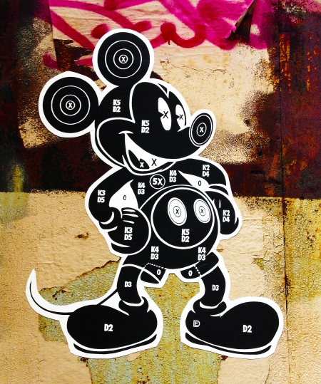 Mickey Target by Dylan Egon